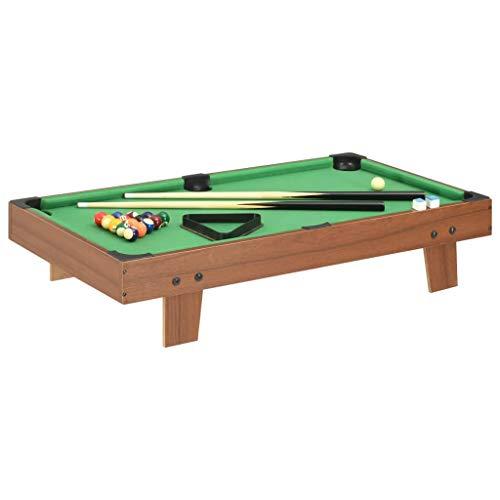 vidaXL Mini Table de Billard Table de Jeu Salle de Sport Jeu de Billard Salle Familial Intérieur...