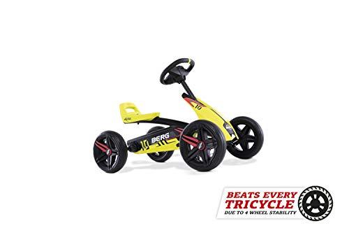 BERG Karting Buzzy Aero | Kart à Pédales, Go-Kart, Siège Réglable, Pneus EVA, Kart à pédales...