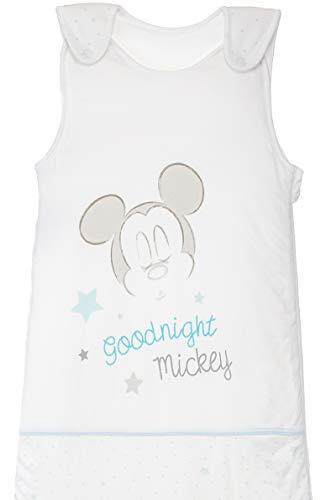Gigoteuse pour bébé toutes saisons en jersey de coton avec motifs style Mickey Mouse 6-18 mois env. 90 x 45 cm TOG 2,5