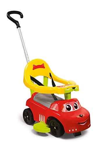 Smoby - Porteur Auto Balade Electronique - Fonction Bascule et Trotteur - Evolutif - Pour Enfant Dès 6 Mois - Coffre à Jouets + Klaxon - 720618