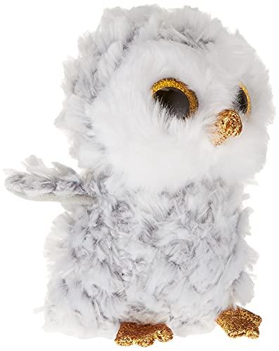 Ty - TY37201 - Beanie Boo's - Peluche Owlette Hibou 15 cm