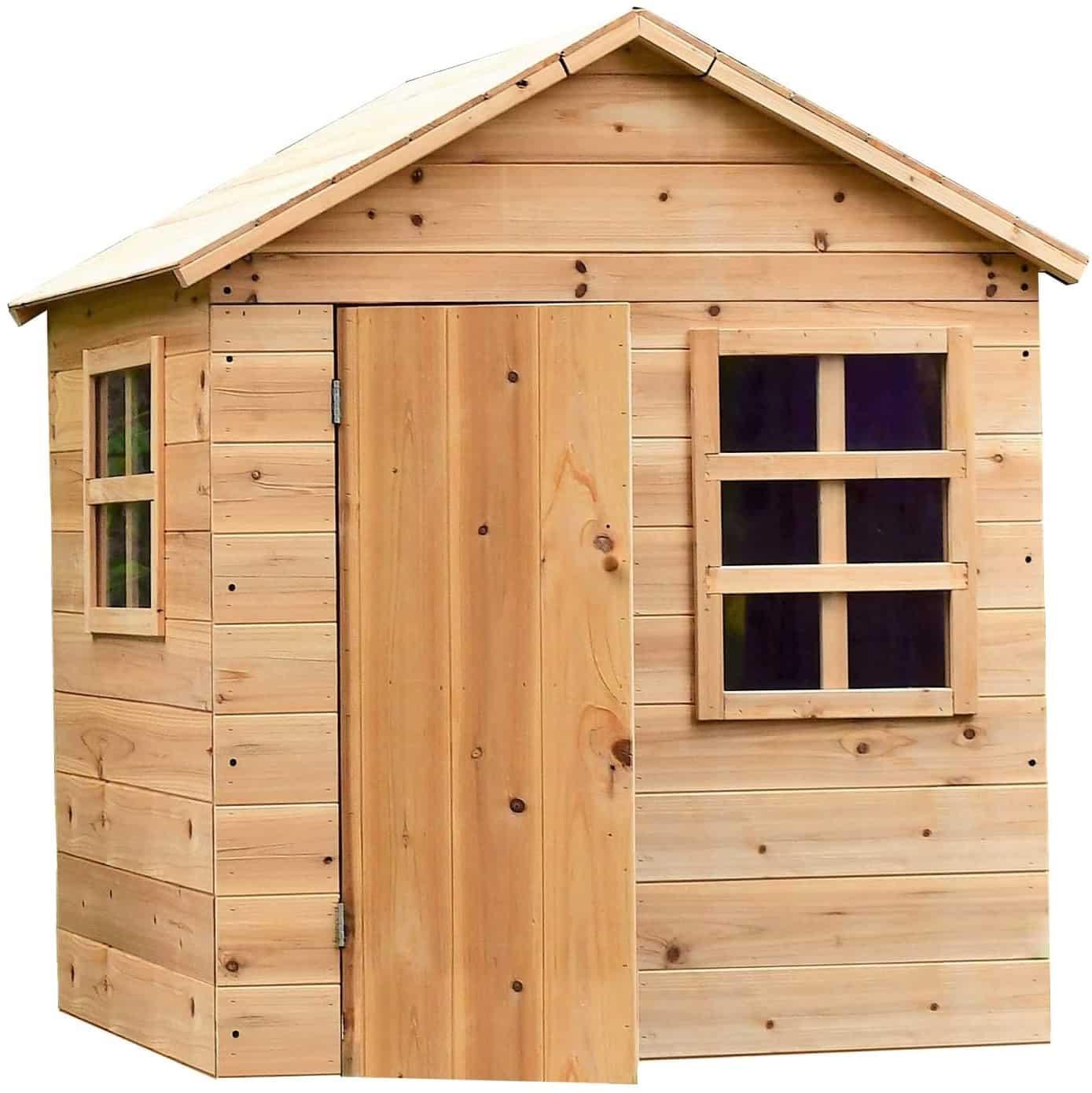 cabane en bois enfant maisonnette en bois enfant