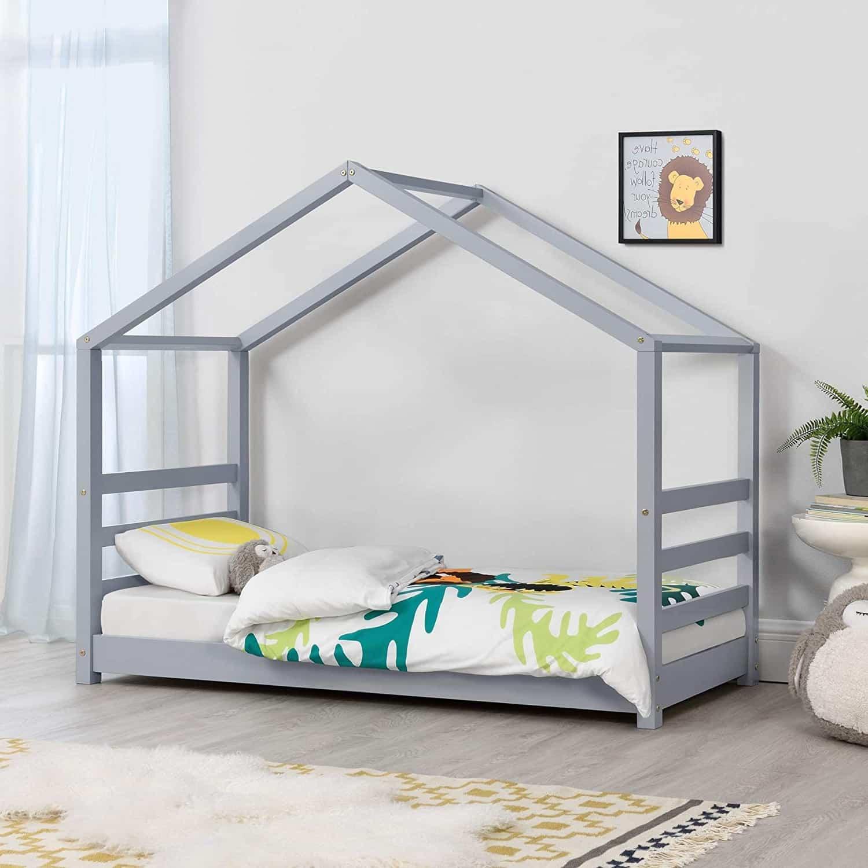 lit cabane fille lit cabane blanc lit cabane barrière